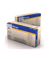 Powderless, Ultra Care Latex Exam Gloves, Polylined DYN-6202-