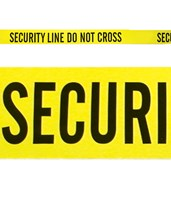Yellow Security line - Do Not Cross EVE-4017-