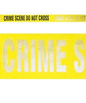 1 - Yellow Reflective Crime Scene - Do Not Cross EVE-4018-