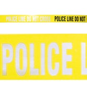 1 - Yellow Reflective Police Line ‐ Do Not Cross EVE-4019