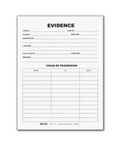 50 - Tyvek Evidence Envelopes EVE-5023