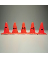 Photo Marker Cones-Five Arrows EVE-8099-4A