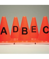 Photo Marker Cones-letters A-Z EVE-8099-AZ