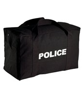 Black Police Duffel Bag EVE-9889-PDS-